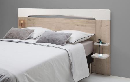 Tête de lit bois Minet Saint-Brieuc