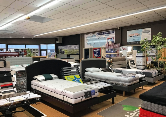 Matelas, sommier relaxation St-Brieuc